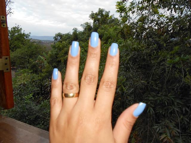 Azul Beira do Mar: Esmalte para arrasar