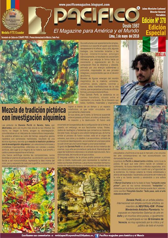 Revista Pacifico Nº 378 Edición Especial / Italia