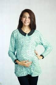 Model Baju Hamil Muslim Trendy 3-4 Bulan