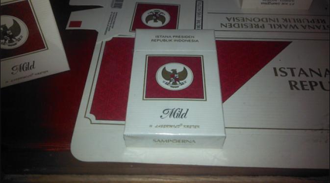 Rokok Istana yang khusus beredar di Istana Negara