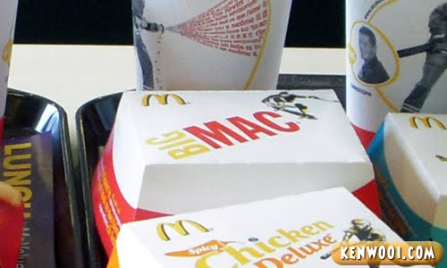 big mac box