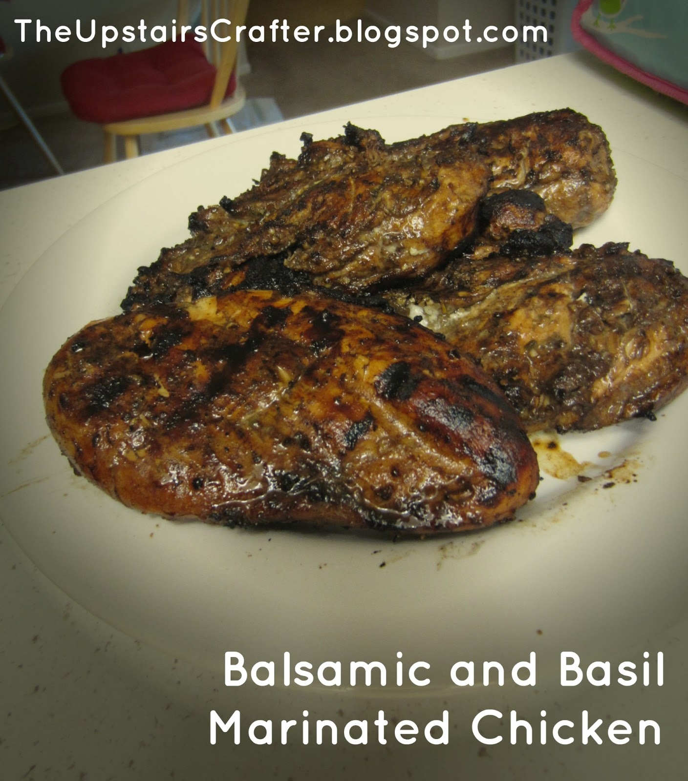 Lemon-Balsamic Marinated Chicken Breasts Recipe — Dishmaps