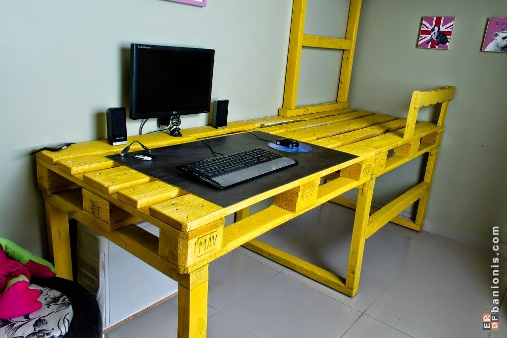 Dormitorio compartido con literas handmade_palets2
