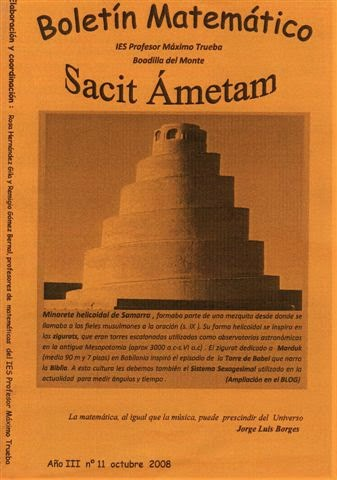 Boletín Sacit Ámetam nº 11