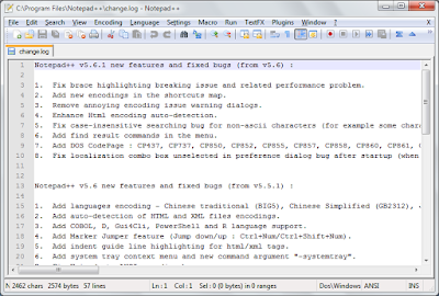 Notepad++ 6.8.6-screenshot