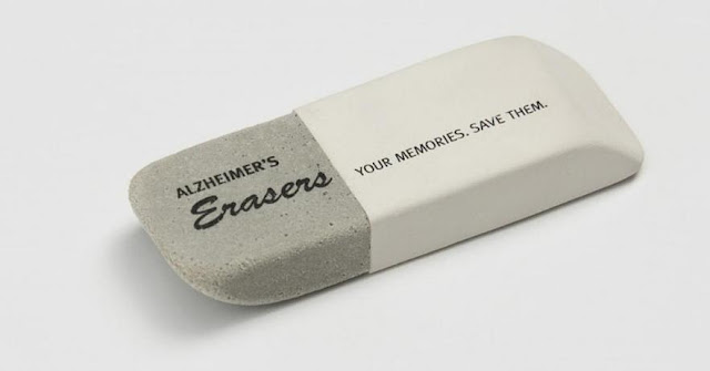 Alzheimer's New Zealand: Eraser USB stick