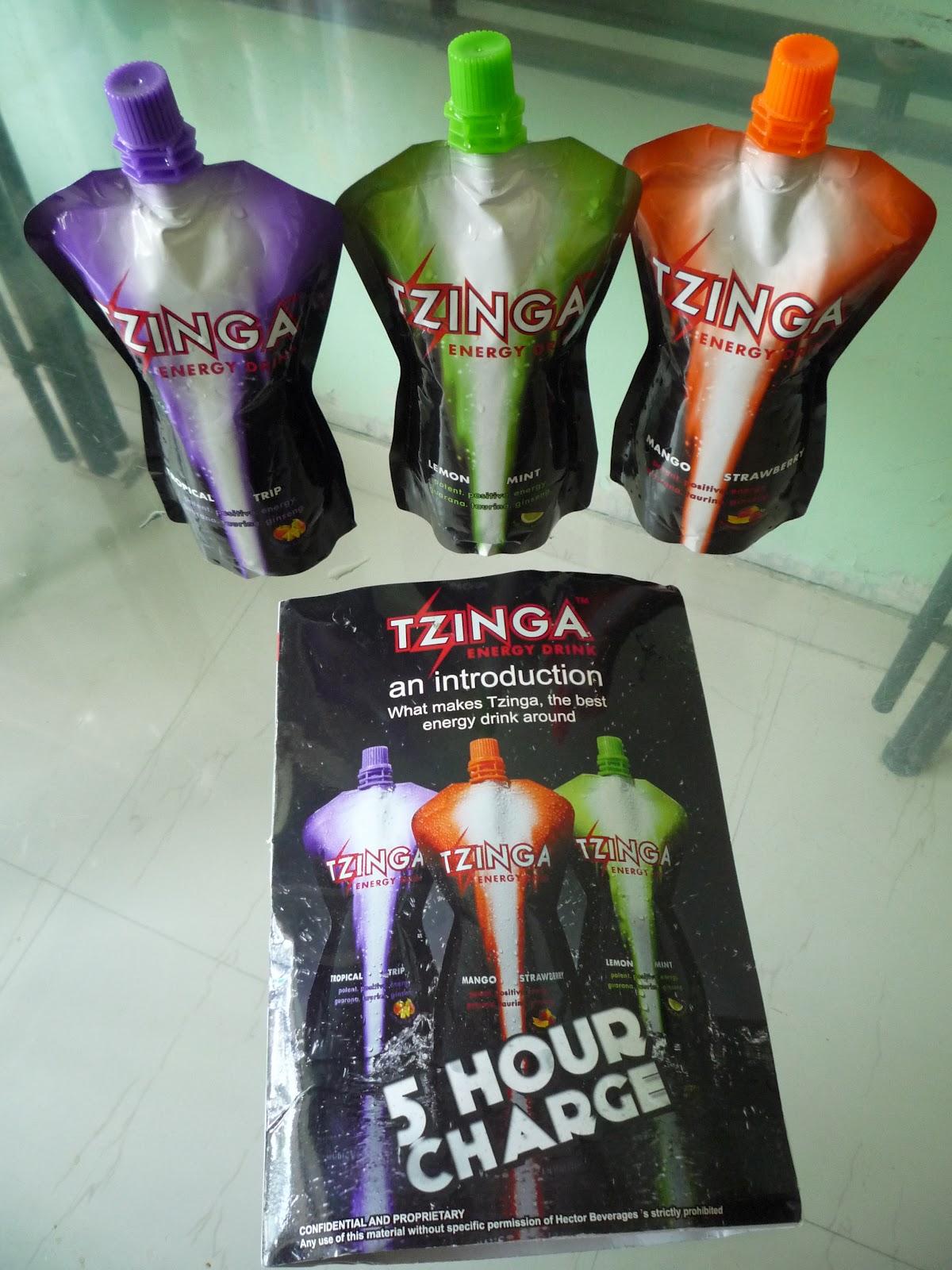 Tzinga Energy Drink Buy Online
