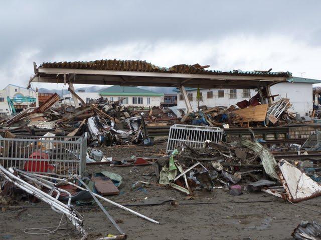 気仙沼線 津波の被害状況 南気仙沼駅