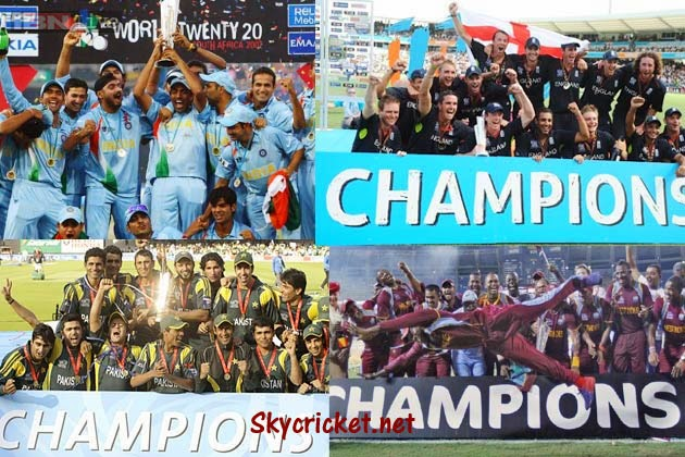 ICC World T20 Winners