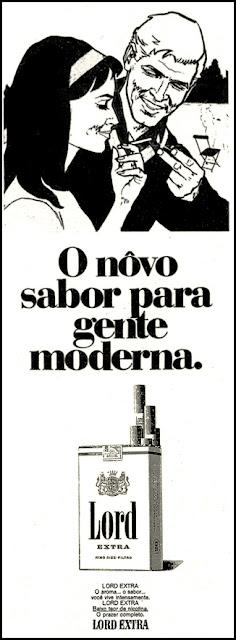 cigarros Lord, propaganda anos 70; história decada de 70; reclame anos 70; propaganda cigarros anos 70; Brazil in the 70s; Oswaldo Hernandez;