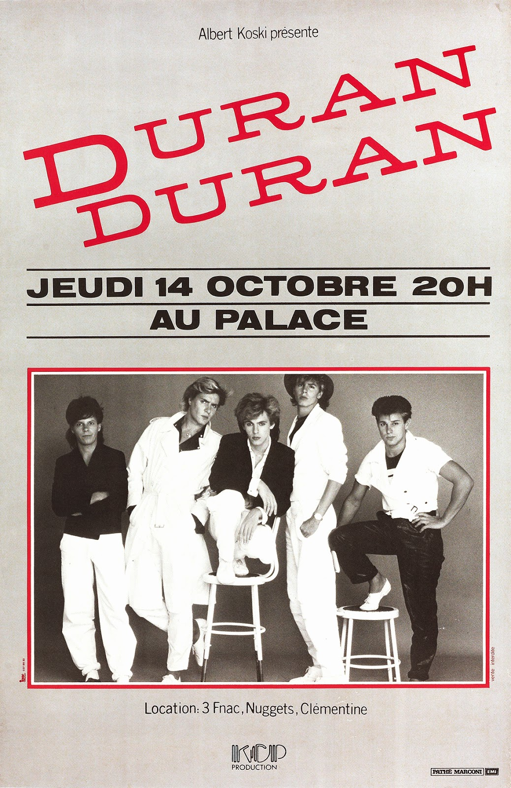 BEAUTIFUL COLORS: The Posters of Duran Duran