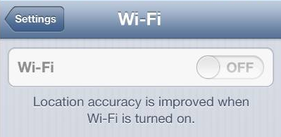 iphone wifi not functioning