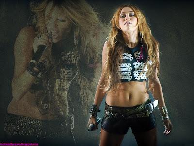 Miley Cyrus beautiful Girl Wallpaper