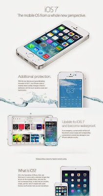 Does IOS7 make your Iphone waterproof?