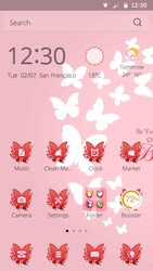 Screenshots of the Butterfly for Android tablet, phone.