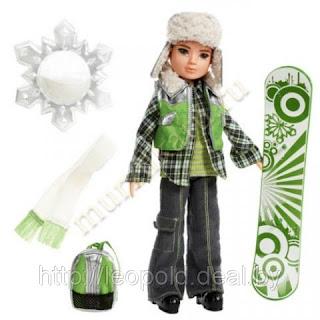 кукла мальчик сноубордист