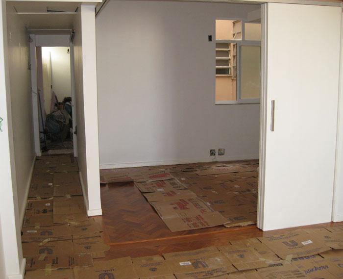 Reforma reforma e haja papel o for Reforma piso barato