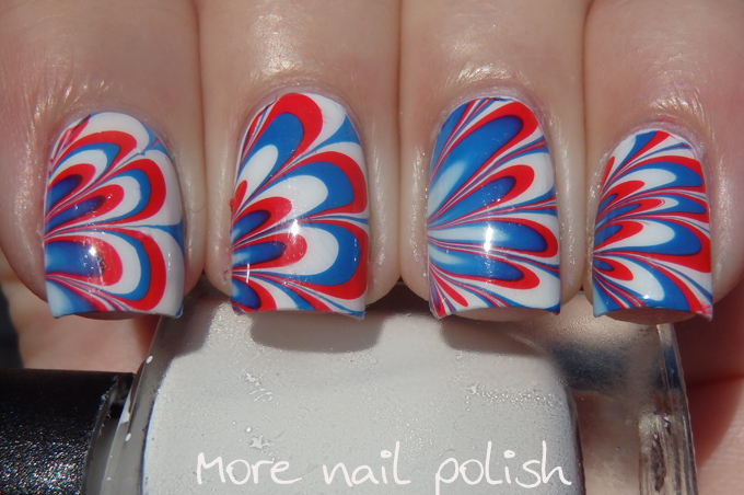 23 australia day nail art ideas more nail polish 23 australia day nail art ideas prinsesfo Gallery