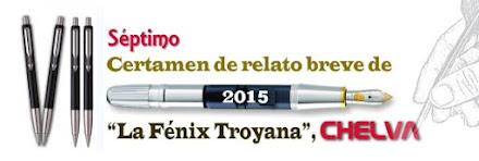 "VII Certamen internacional de Relato  breve ""La Fénix Troyana"""