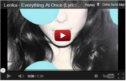 ленка everything at once видео
