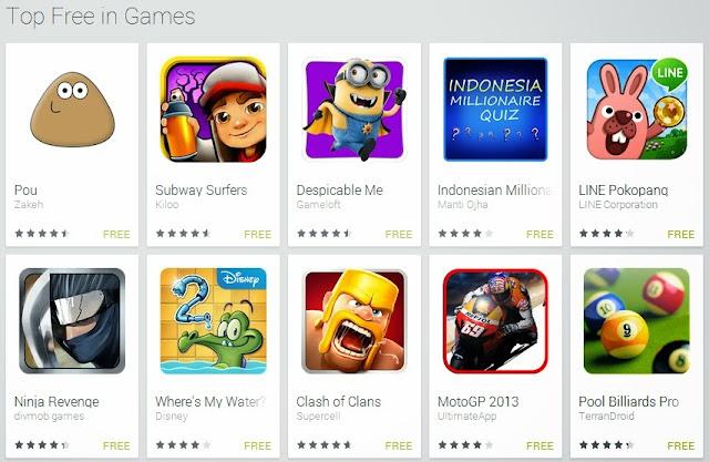 Game Android Gratis Baru Terpopuler