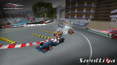 BlueBird Racing, Szentliga, F1, szimulátorsport, Monacói Nagydíj,