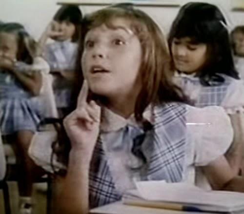 Propaganda da Sandália Melissinha Transparente, lançada em 1987.