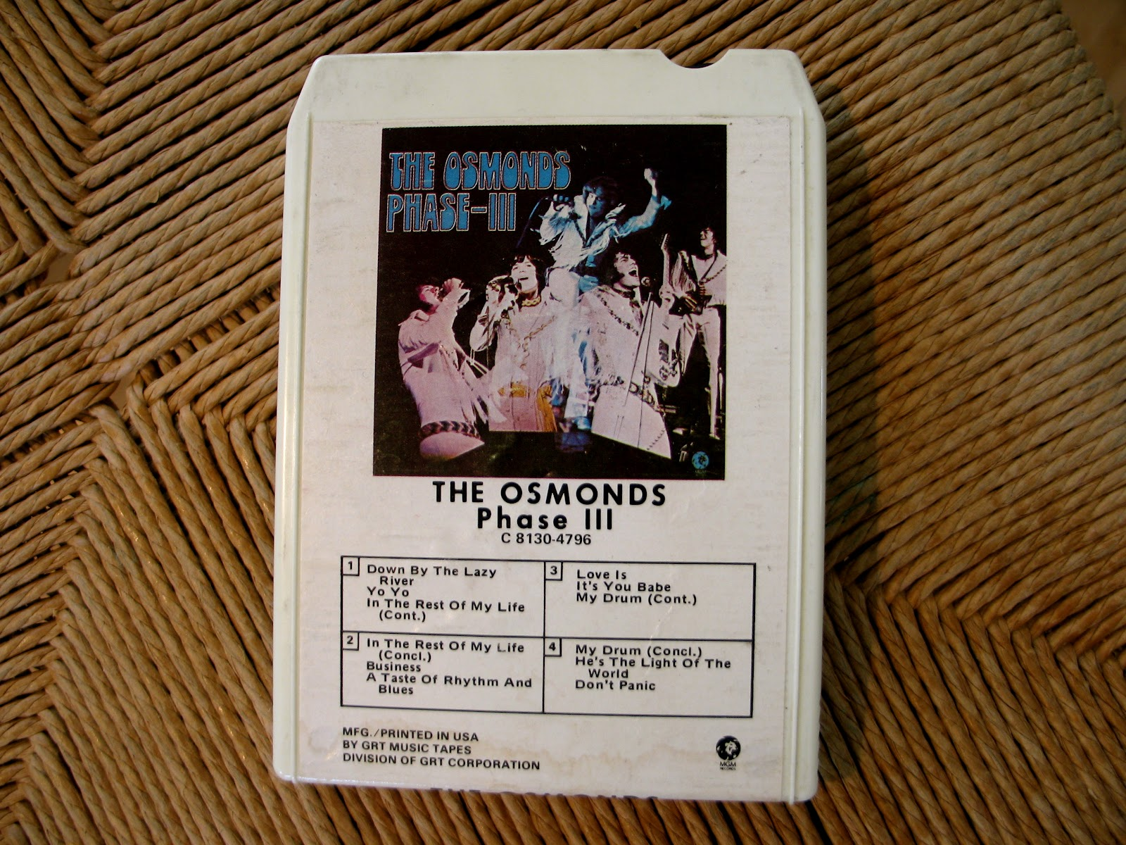 tonette time remember your track iphone case from  the osmonds phase iii 8 track iphone case by bruce tribbensee