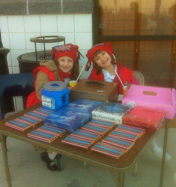 JAI AND LIZA SELLING CANDY BARS 2011