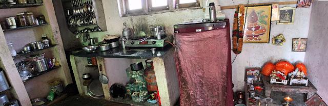 rural woman's kitchen