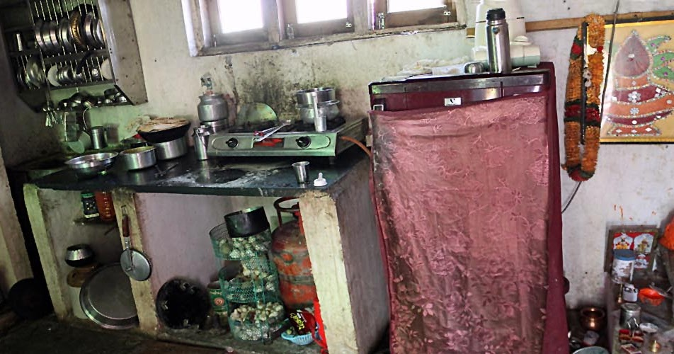 Stock Pictures Middle Class Kitchens Of Rural India