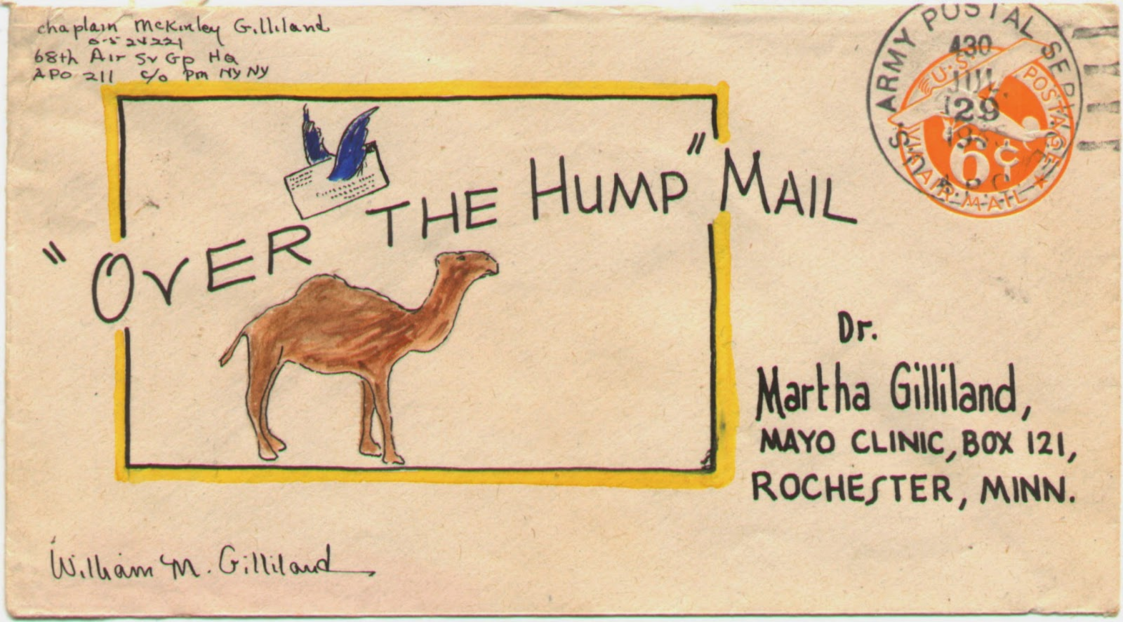 surprised by time from mack to martha love notice the date on this next envelope a month after the atomic bombs he had learned that he was to be demobilized it was another six months