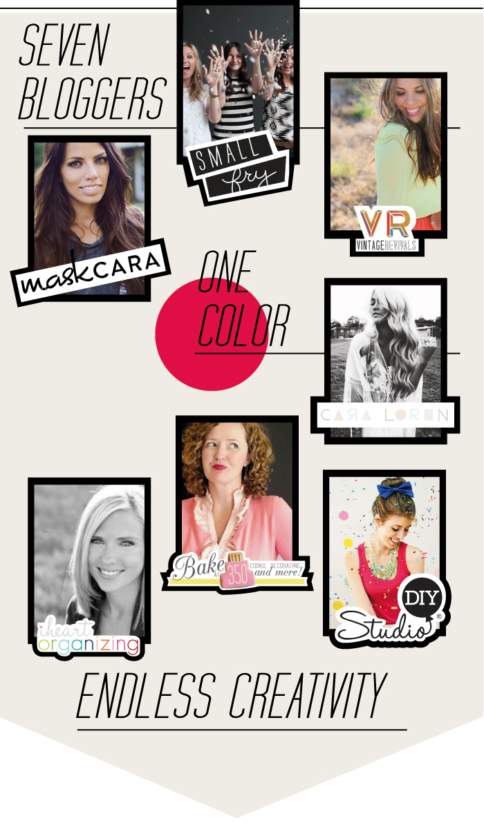 Color Challenge ::: 7 bloggers, one color, endless creativity!