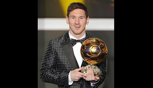 Lionel Messi Baln de Oro de la FIFA