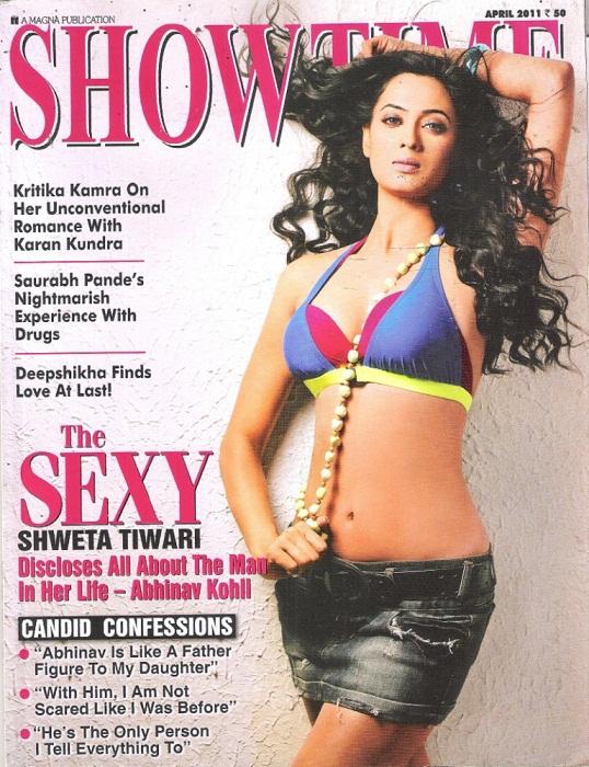 Shweta Tiwari Spicy Photoshoot for Showtime Magazine - April 2011