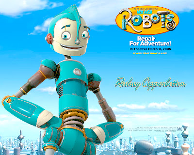 Robots Animation Movie Character Rodney HD Desktop Wallpaper