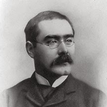 Rudyard Kipling and his Mustache