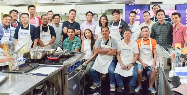 Samsung Digital Appliances' Cooking Workshop