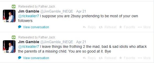 Jim Gamble slams trolls for harming tot's siblings – calls for police action Jim%2Bgamble%2Bidiots