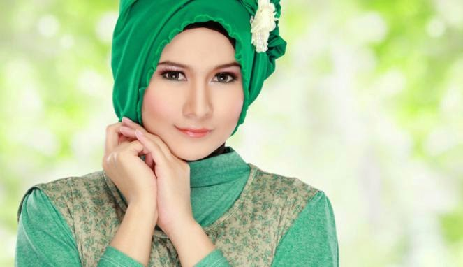 Penggunaan Hijab Sesuai Bentuk Wajah
