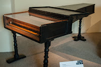 A 1720 fortepiano by Cristofori in  the Metropolitan Museum, New York