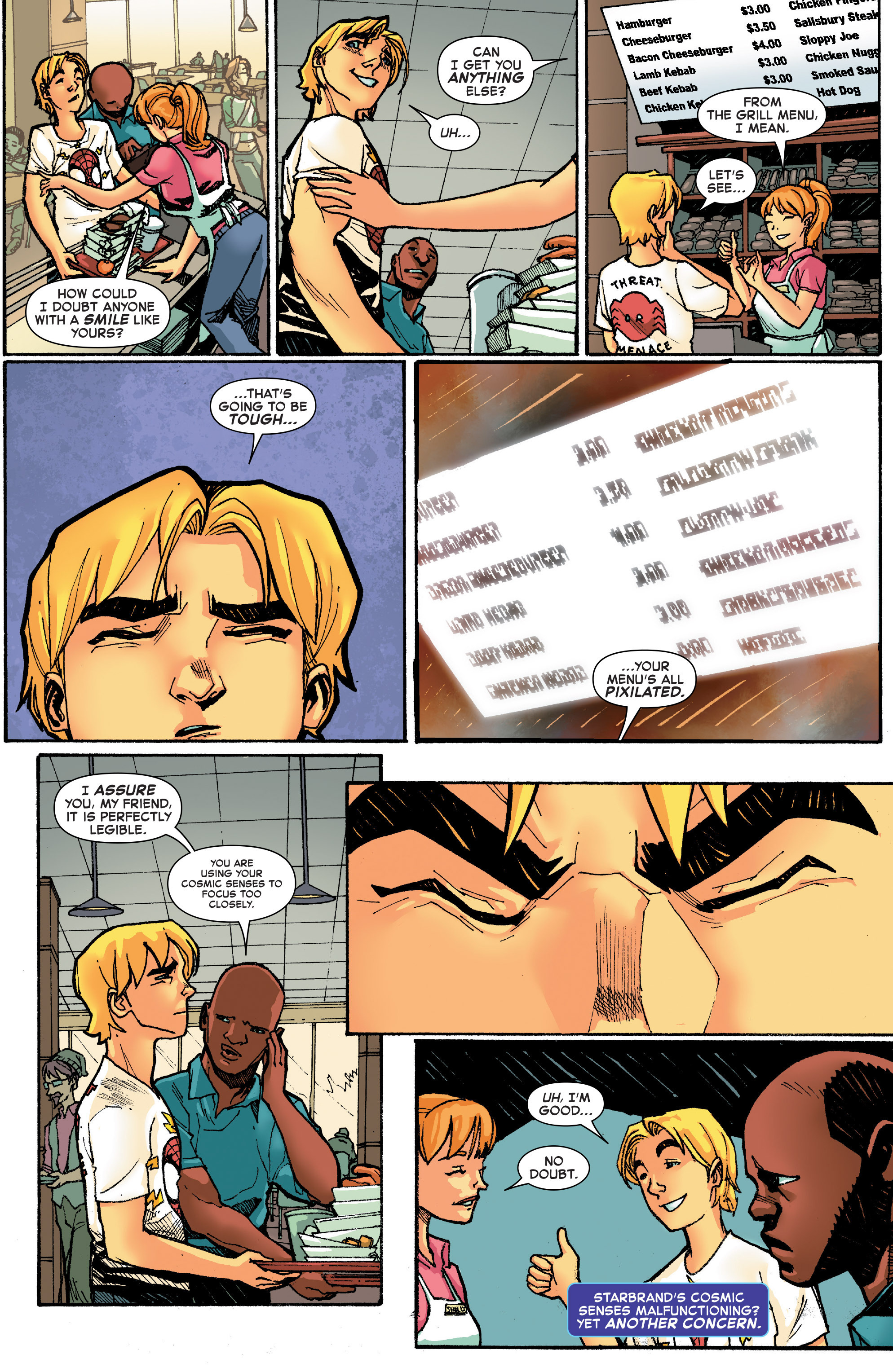 Read online Starbrand & Nightmask comic -  Issue #2 - 19