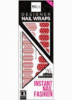 NCLA peppermint lane nail wrap