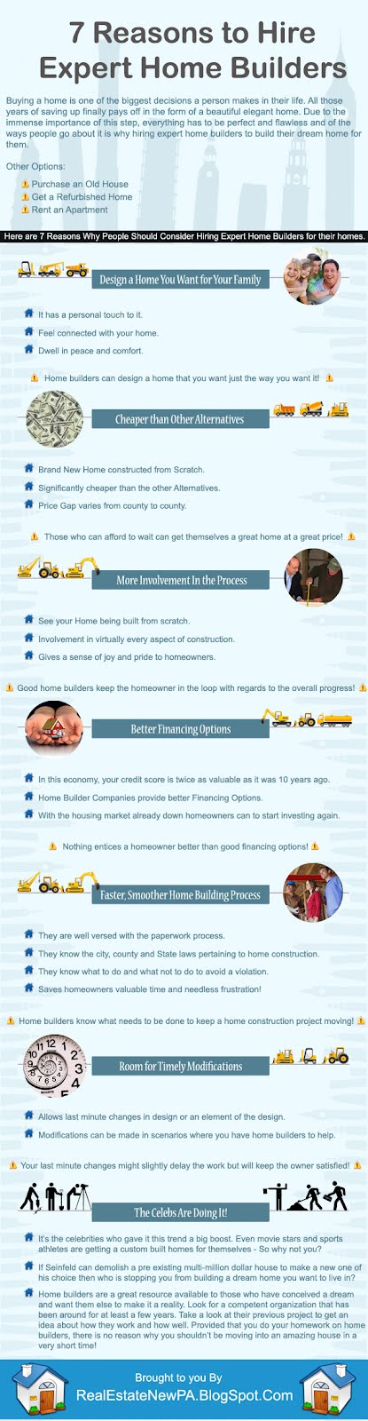 Hire Expert Home Builders [Infographic]