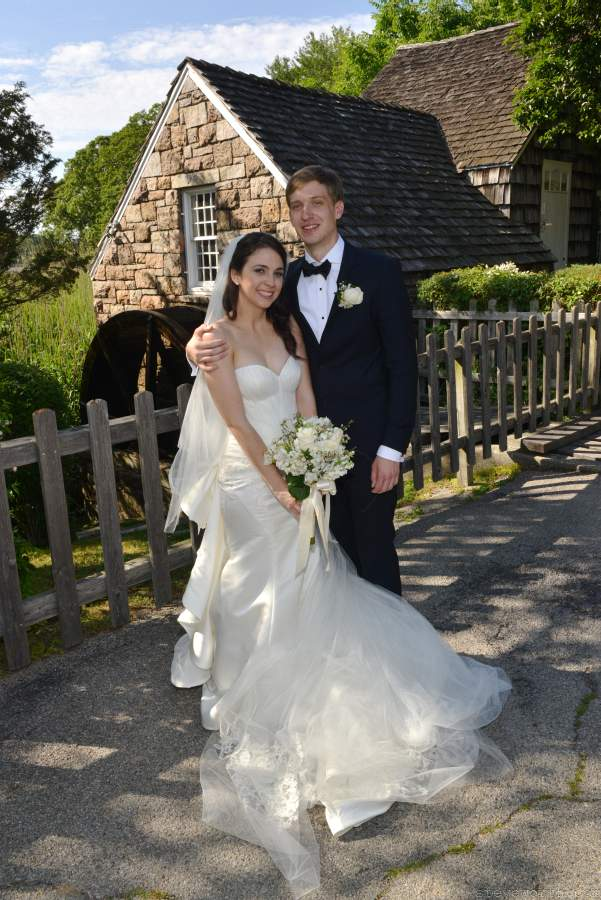 Wedding Photos at Stony Brook Grist Mill Pond