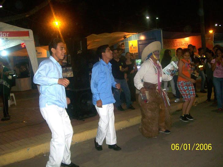 Colibry y sus bailes tradicionales