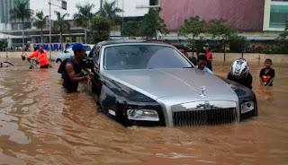 mencegah mogok saat banjir