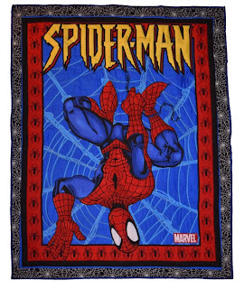 Amazing hand quilted Spiderman