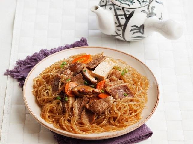 Beef Sukiyaki Sotanghon