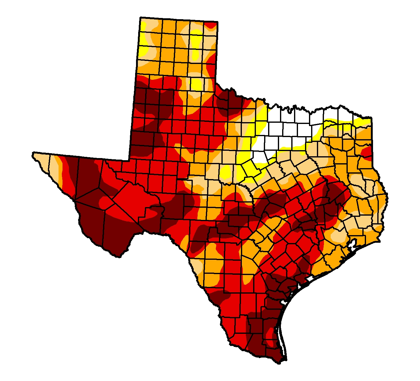 us drought monitor feb 2 2012 image of tx